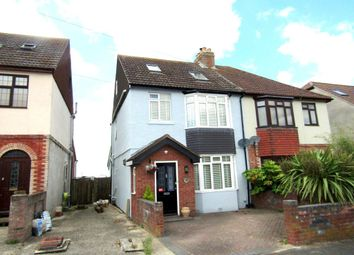 Thumbnail 4 bed semi-detached house for sale in Geoffrey Avenue, Purbrook, Waterlooville