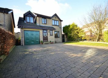Thumbnail 4 bed detached house for sale in Edale Grove, Queensbury, Bradford