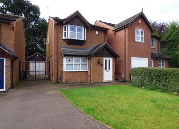 Thumbnail 3 bed detached house for sale in Sandhurst Gardens, Western Park, Leicester