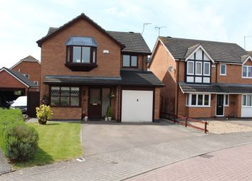 Thumbnail 4 bed detached house for sale in Murray Close, Broughton Astley, Leicester