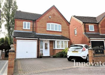 Thumbnail 4 bed detached house to rent in Birchley Park Avenue, Oldbury