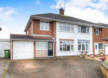 Thumbnail 3 bed semi-detached house for sale in Dunblane Drive, Leamington Spa, Warwickshire, West Midlands