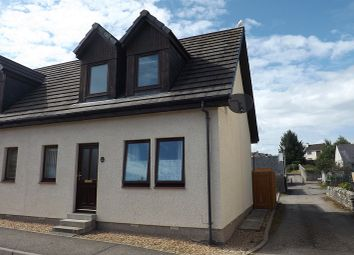 Thumbnail 2 bed semi-detached house for sale in Averon Road, Alness