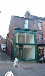 Thumbnail Retail premises for sale in Stanley Street, Leek, Staffordshire