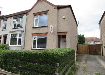 Thumbnail 2 bed end terrace house to rent in Hen Lane, Holbrooks, Coventry