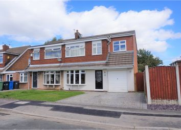 Thumbnail 3 bed semi-detached house for sale in Burley Crescent, Winstanley, Wigan