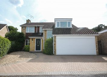 Thumbnail 4 bed detached house for sale in Highdown, Fleet