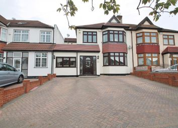 Thumbnail 4 bedroom semi-detached house for sale in Clayhall Avenue, Clayhall, Ilford