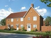 Thumbnail 1 bed detached house for sale in Nightingale Meadows, Leiston