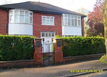 Thumbnail 3 bed flat to rent in Hartley Hall Gardens, Gowan Road, Whalley Range, Manchester