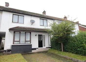 Thumbnail 3 bed terraced house for sale in Gortlane Drive, Greenisland, Carrickfergus