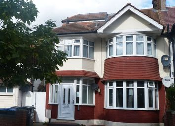Thumbnail 3 bed flat to rent in Jeymer Avenue, London