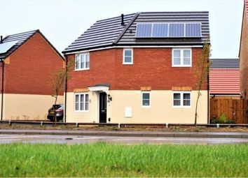 Thumbnail 3 bed detached house for sale in Foxglove Close, Whittlesey, Peterborough, Cambridgeshire