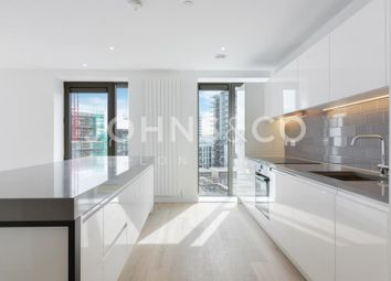 Thumbnail 3 bed flat for sale in Kelson House, Royal Wharf