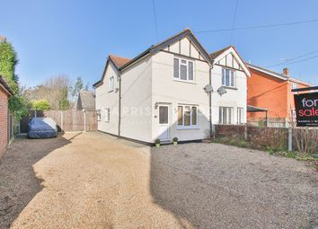Thumbnail 3 bed semi-detached house for sale in Fiddlers Lane, East Bergholt, Colchester