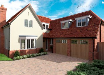 Thumbnail 4 bed detached house for sale in Green End, Braughing