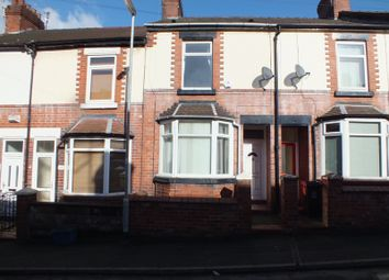 Thumbnail 2 bed terraced house for sale in Ashfields New Road, Newcatsle Under Lyme, Staffordshire