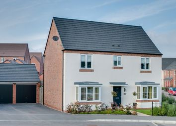 Thumbnail 4 bed detached house for sale in Aero Way, Cofton Hackett, Birmingham
