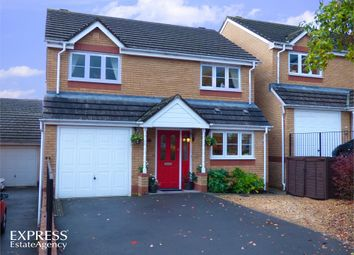 Thumbnail 4 bed detached house for sale in Churchwood, Griffithstown, Pontypool, Torfaen