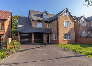 Thumbnail 5 bed detached house for sale in Britannia Road, Cuddington, Northwich