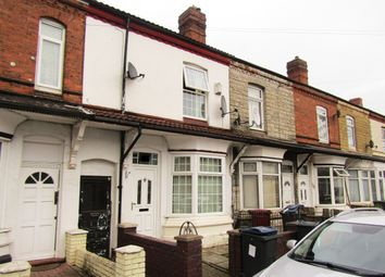 Thumbnail 3 bed terraced house to rent in St. Margarets Road, Ward End, Birmingham