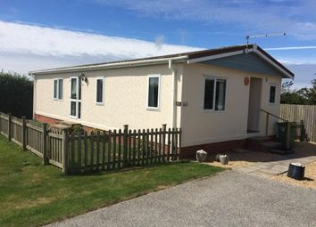 Thumbnail 3 bed mobile/park home for sale in St Merryn Holiday Park, Cornwall