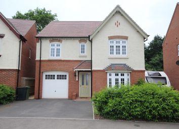 Thumbnail 4 bed detached house for sale in Adderley Avenue, Weddington, Nuneaton