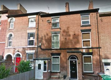 Thumbnail 4 bedroom terraced house for sale in Cromwell Street, Nottingham