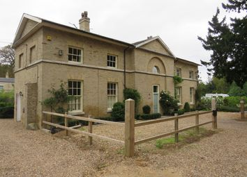 Thumbnail 4 bed detached house for sale in Bungay Road, Beccles