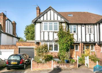 Thumbnail 5 bedroom semi-detached house for sale in Shakespeare Gardens, East Finchley, London