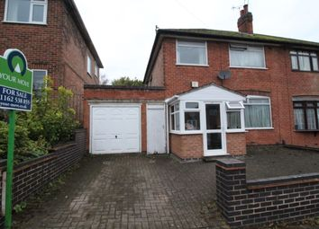 3 bed semi-detached house for sale in Dersingham Road, Leicester LE4