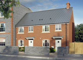 "Thumbnail 3 bedroom terraced house for sale in ""The Hawthorn"" at Mill Lane, Bitton, Bristol"