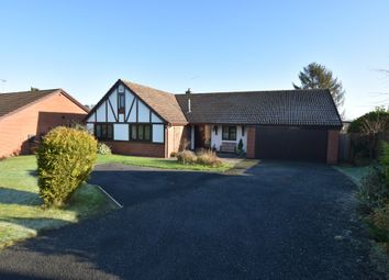 Thumbnail 4 bed detached bungalow for sale in Millfield Drive, Market Drayton