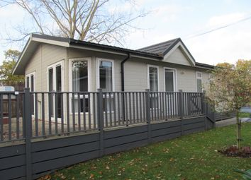Thumbnail 3 bed mobile/park home for sale in Bacton Road, North Walsham, Norfolk