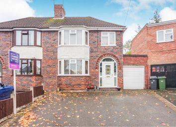 Thumbnail 3 bed semi-detached house for sale in Fancourt Avenue, Wolverhampton