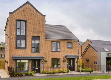 "Thumbnail 4 bedroom terraced house for sale in ""Winwick"" at Dunnock Lane, Cottam, Preston"