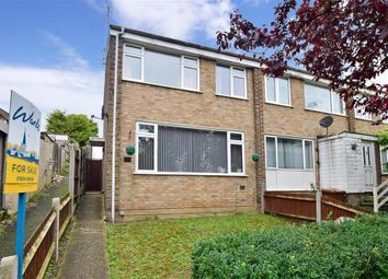 Thumbnail 3 bed end terrace house for sale in Broadlands Drive, Walderslade, Chatham, Kent