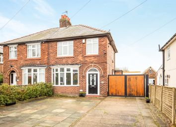 Thumbnail 3 bed semi-detached house for sale in School Lane, Elton, Chester