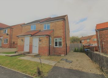 Thumbnail 2 bed semi-detached house for sale in Henderson Avenue, Wheatley Hill, Durham
