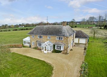 Thumbnail 5 bed detached house for sale in Park Road, Brampton, Huntingdon