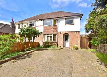 Thumbnail 3 bed semi-detached house for sale in Swan Lane, Marlpit Hill, Kent