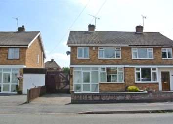 Thumbnail 3 bed semi-detached house for sale in Saville Road, Blaby, Leicester