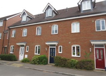 Thumbnail 4 bed terraced house for sale in Hopton Grove, Newport Pagnell