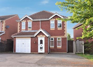 Thumbnail 4 bed detached house for sale in Morland Drive, Hinckley