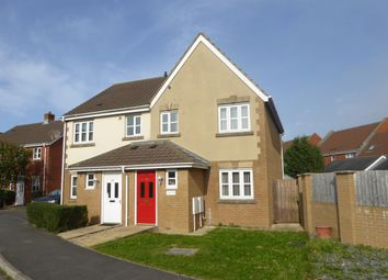 Thumbnail 3 bed semi-detached house to rent in Dunedin Way, St. Georges, Weston-Super-Mare