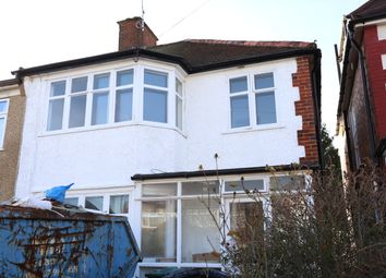 Thumbnail 4 bed semi-detached house to rent in Sandringham Gardens, North Finchley, London