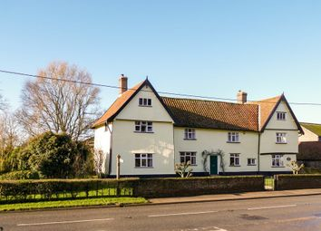 Thumbnail 5 bed farmhouse for sale in The Street, Winfarthing, Diss
