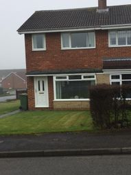 Thumbnail 3 bed semi-detached house to rent in Brocklesby Road, Guisborough