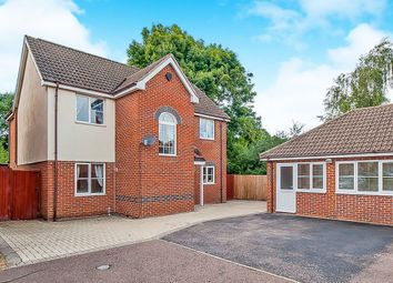 Thumbnail 4 bedroom detached house for sale in Baird Close, Yaxley, Peterborough