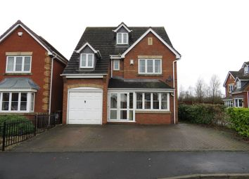Thumbnail 5 bedroom detached house for sale in Lingfield Road, Norton Canes, Cannock